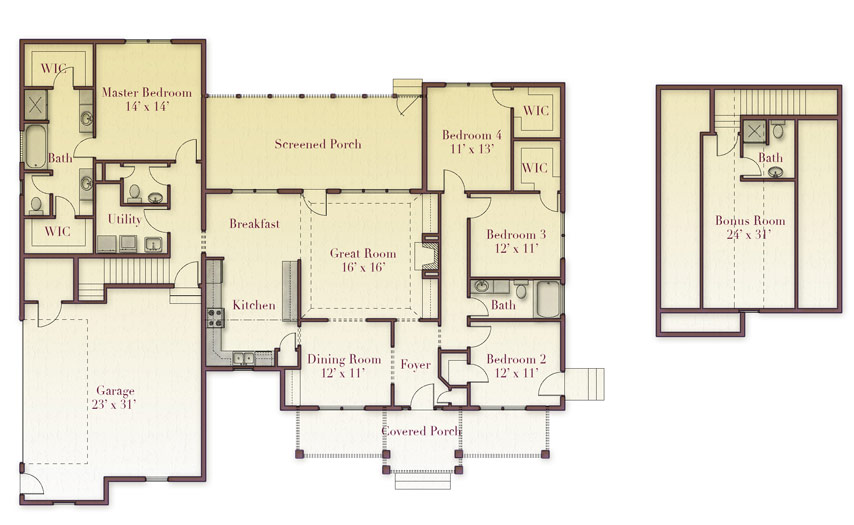 Hershberger Floorplan