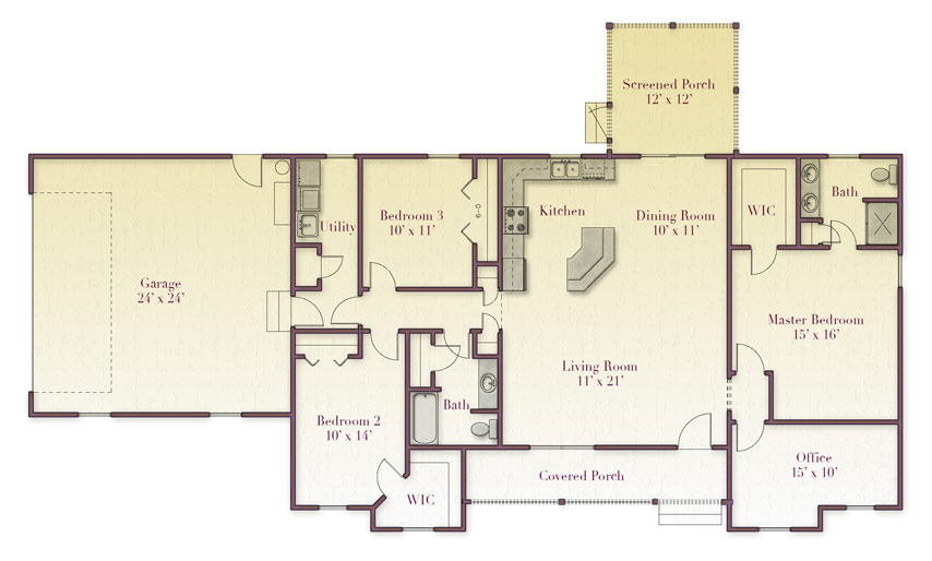 Zook Floorplan